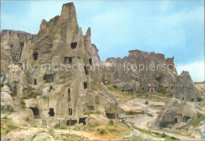 Nevsehir Christian s refuges into rocks