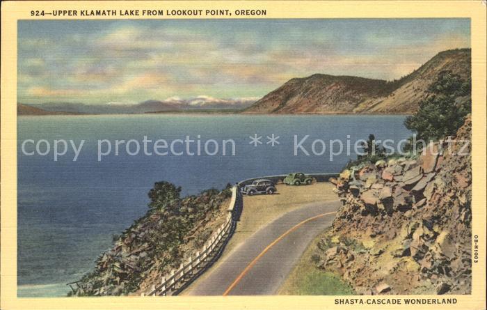 Oregon US State Highway 97 Upper Klamath Lake