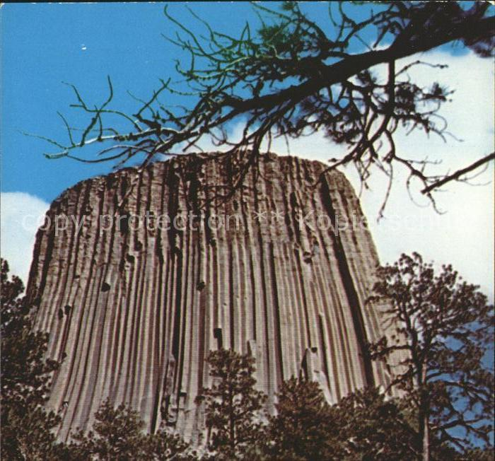Wyoming US State Devils Tower