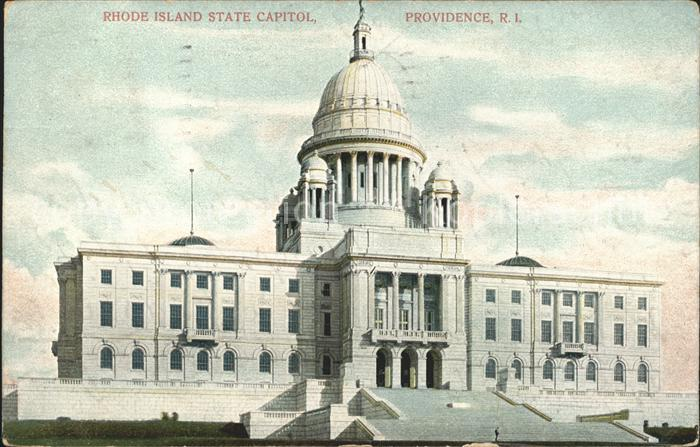 Rhode Island US State Capitol Providence