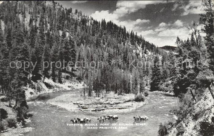 Idaho US State Salmon River