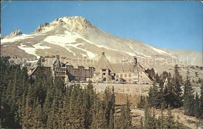 Oregon US State Mount Hood Timberline Lodge