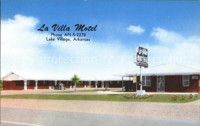 Arkansas US State La villa motel