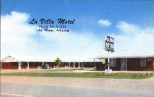 Arkansas US State La villa motel