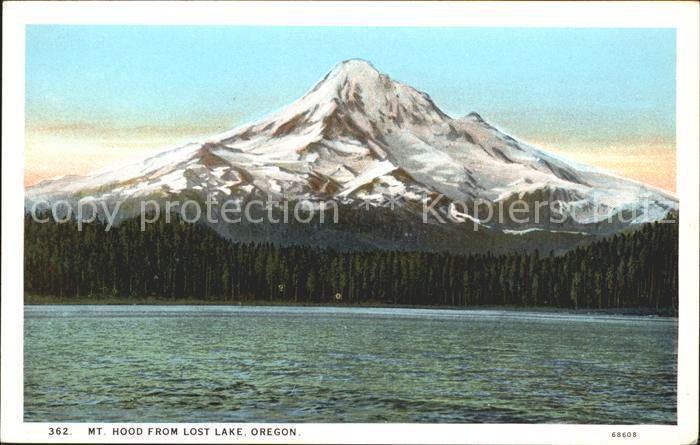 Oregon US State Mount Hood Lost Lake