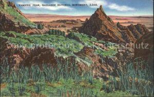 South Dakota US-State Vampire peak, Badlands national monument /  /