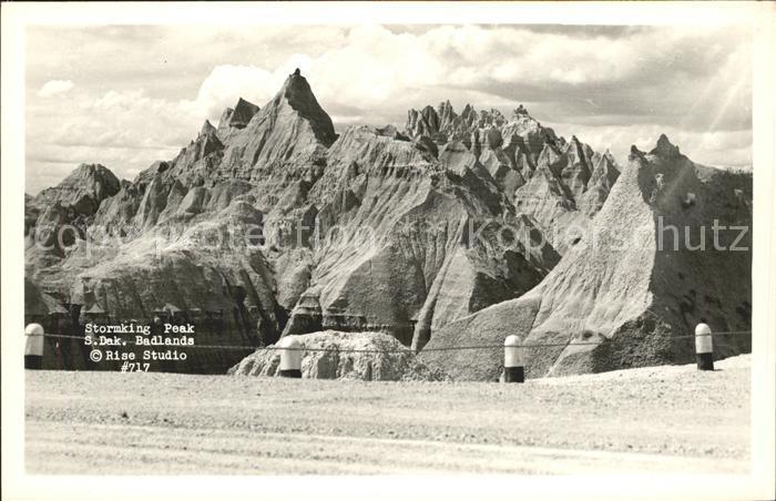 South Dakota US-State Stormking Peak Badlands  /  /
