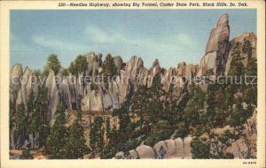 South Dakota US-State Needles Highway Big Tunnel Custer State Park Black Hills  /  /