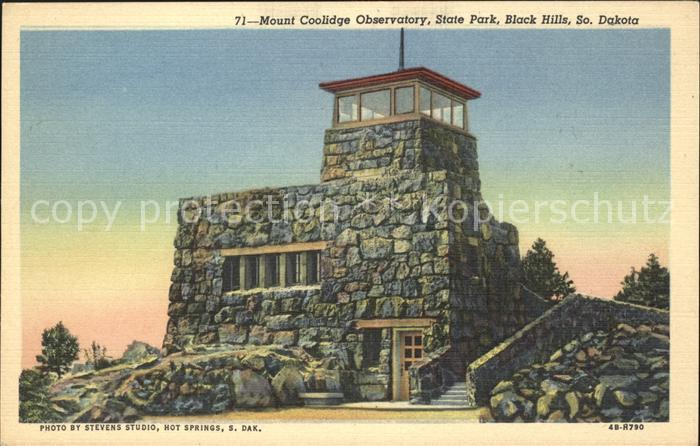 South Dakota US-State Mount Coolidge Observatory State Park  /  /