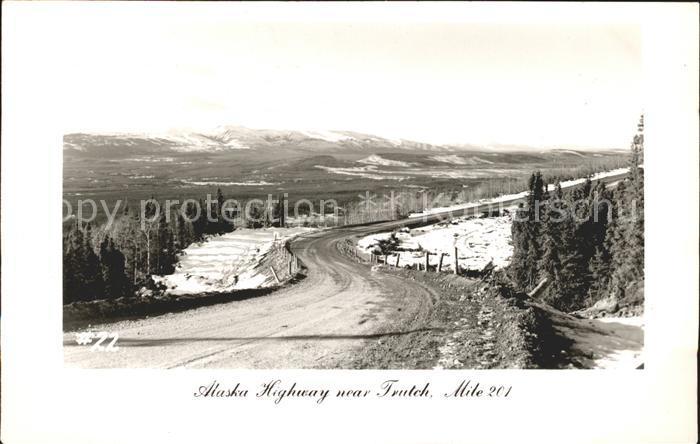 Alaska US State Highway Trutch