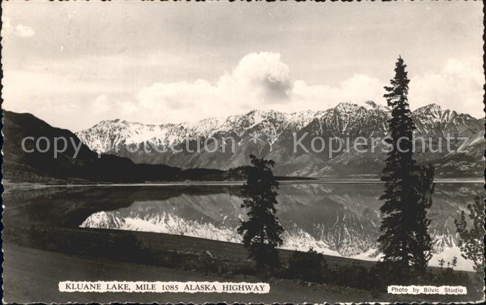 Alaska US State Kluane Lake