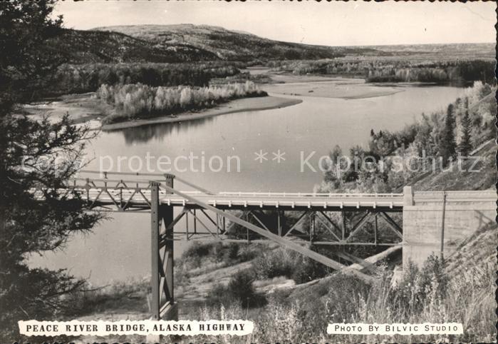 Alaska US State Highway River Bridge