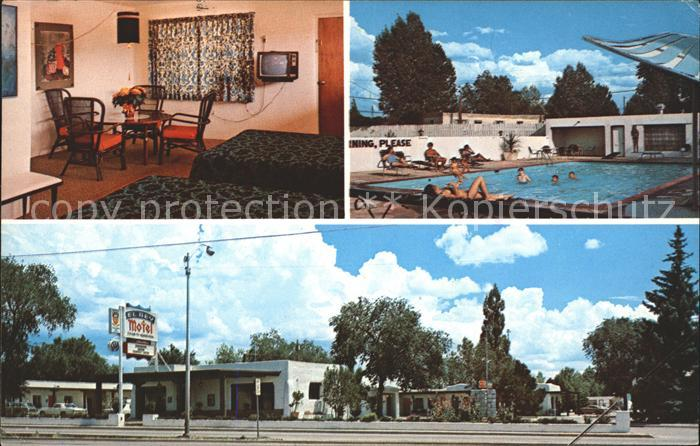 New Mexico US State El Rey Motel