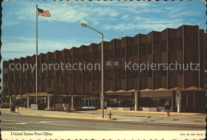 Michigan US State United States Post Office
