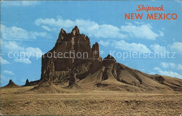 New Mexico US State Shiprock