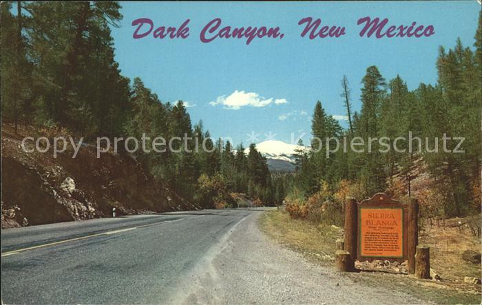 New Mexico US-State Dark Canyon  /  /