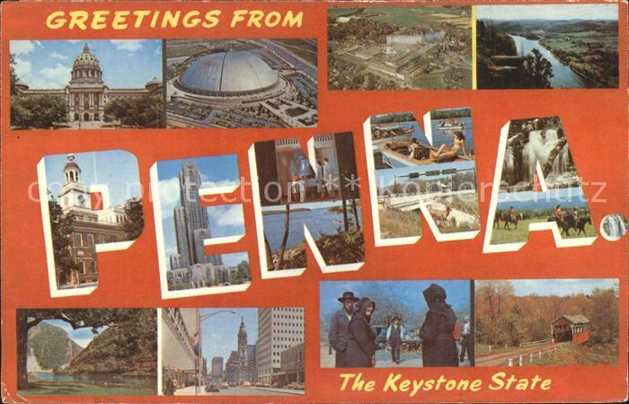 Pennsylvania US State Keystone State