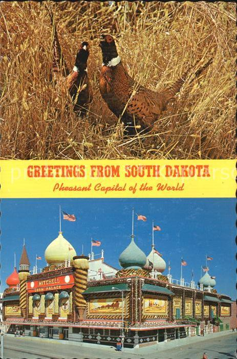 South Dakota US State Pheasant Capital of the World