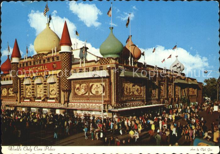 South Dakota US State World s Only Corn Palace