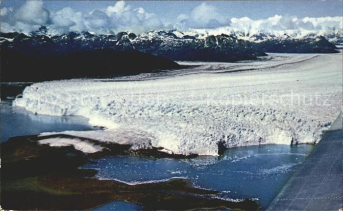 Alaska US State Columbia Glacier