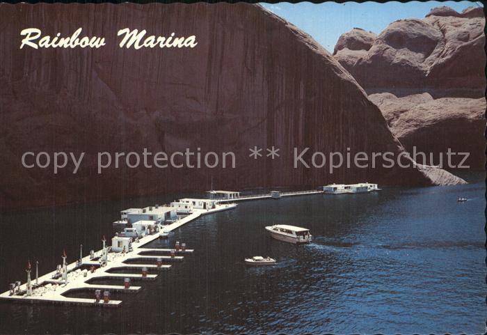 Arizona US State Rainbow Marina  near Glen Canyon Dam