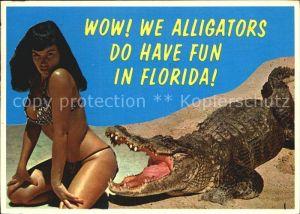 Florida US State Alligator