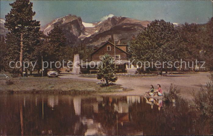 Colorado US State Spragues Lodge Rocky Mountain National Park