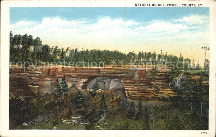 Kentucky US State Natural Bridge Powel County