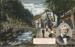 Wagner Richard Komponist Lochmuehle / Musik /