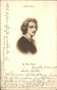 Van Dyck A.  / Kuenstlerkarte /