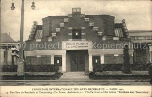 Exposition Arts Decoratifs Paris 1925 Pavillon de Roubaix et Tourcoing /  /