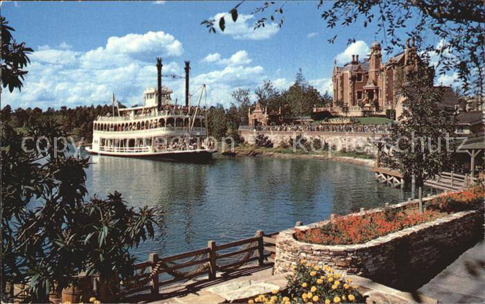 Disney Walt Rivers of America Schaufelraddampfer Kat. Unterhaltung