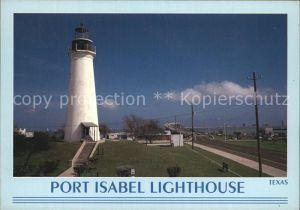 Leuchtturm Lighthouse Port Isabel Texas  Kat. Gebaeude