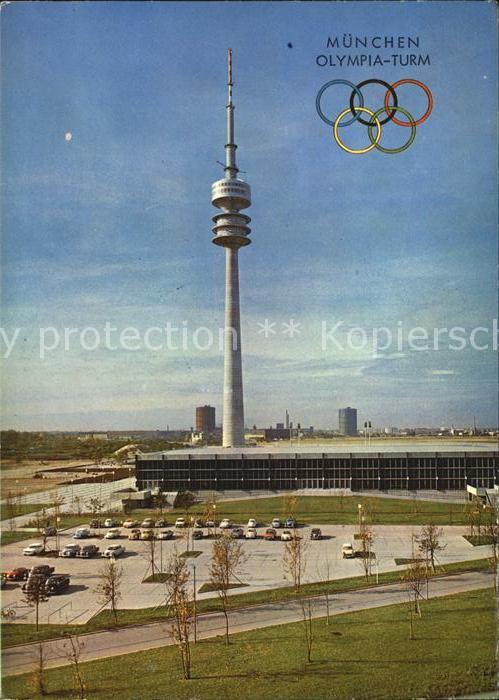 Olympia Muenchen Olympia Turm Eissportstadion Kat. Sport