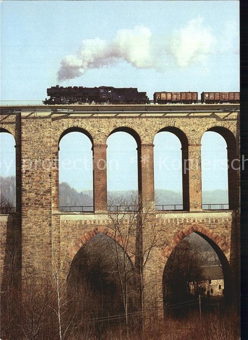 Eisenbahn Lokomotive Dietenmuehlenviadukt  Kat. Eisenbahn