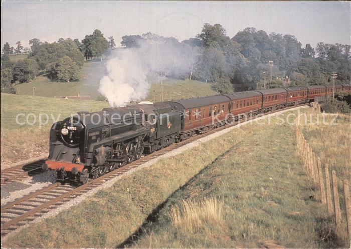 Lokomotive British Railways Riddles Class 9F 2 10 0 Evening Star Kat. Eisenbahn