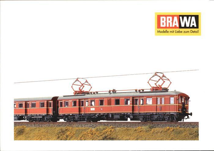 Modellbau Eisenbahn Brawa Triebwagen BR ET 65 H0  Kat. Spielzeug