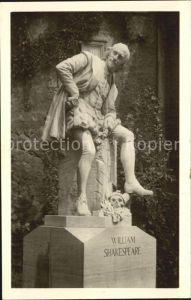 Shakespeare William Denkmal Weimar  Kat. Persoenlichkeiten