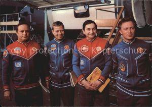 Raumfahrt Kosmosflug Waleri Bykowski Sigmung Jaehn Wiktor Gorbatko Kat. Flug