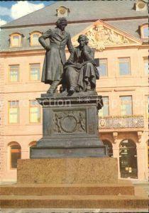 Denkmal Brueder Grimm Hanau Kat. Denkmaeler