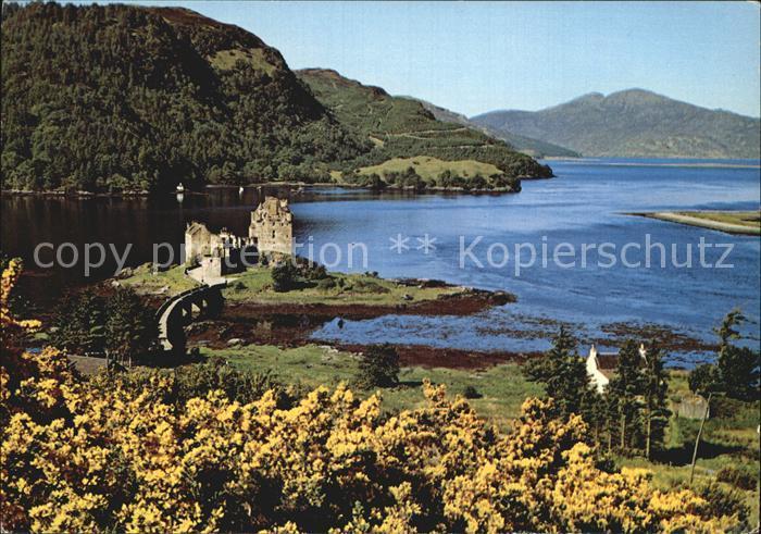 Dornie Schottland Eilean Donan Castle / Regionales / Nr. ks82145 ...