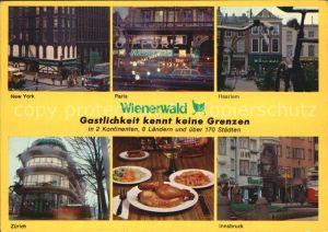 Restaurant Hotel Restaurant Wienerwald weltweit Kat. Gastwirtschaft
