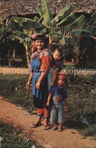 Typen Asien Thai LISO Hill Tribe woman Chiangmai North Thailand Kat. Typen