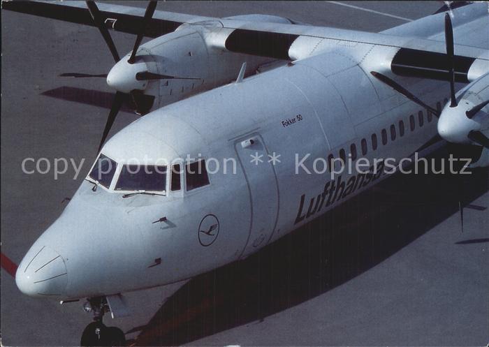 Lufthansa Fokker 50 Kat. Flug