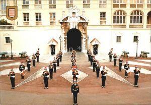 Leibgarde Wache Monaco Monte Carlo Fanfare Compagnie des Carabiniers S.A.S.  Kat. Polizei