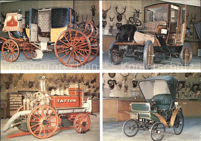 Autos 1906 Electric Broughman 1900 Benz State Coach Tatton Fire Engine Kat. Autos