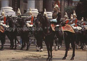 Leibgarde Wache Life Guard London  Kat. Polizei