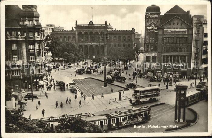 Strassenbahn Berlin Potsdamer Platz Kat. Strassenbahn