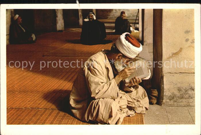 Islam Reading the Koran in the Mosque Kat. Islam