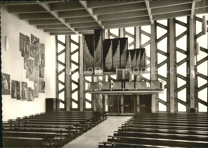kirchenorgel katholische kirche st ansgar berlin hansaviertel kat musik nr kt37158 oldthing. Black Bedroom Furniture Sets. Home Design Ideas